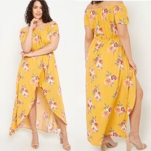 Rue21 Yellow Floral  Romper